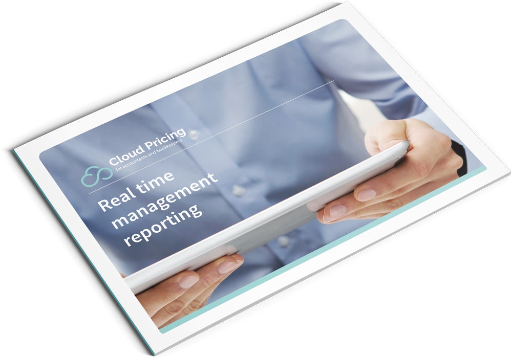 Image of Real Time Management Reporting Brochure Design