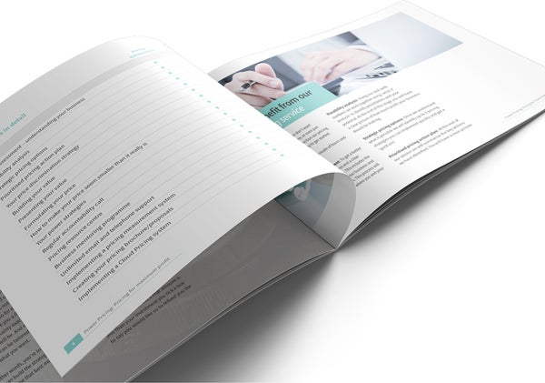 Image of Power Pricing Brochure Print