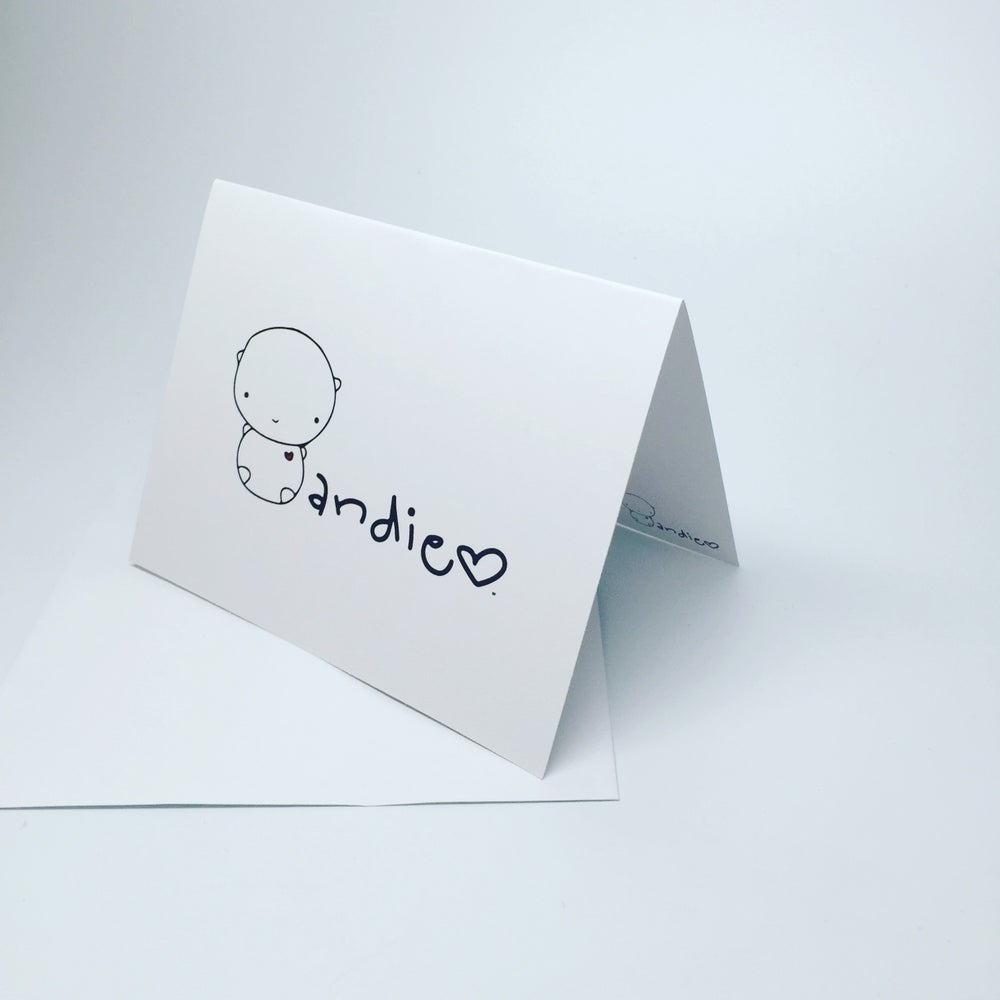 Image of ANDIE bear notecards (pack of 3)