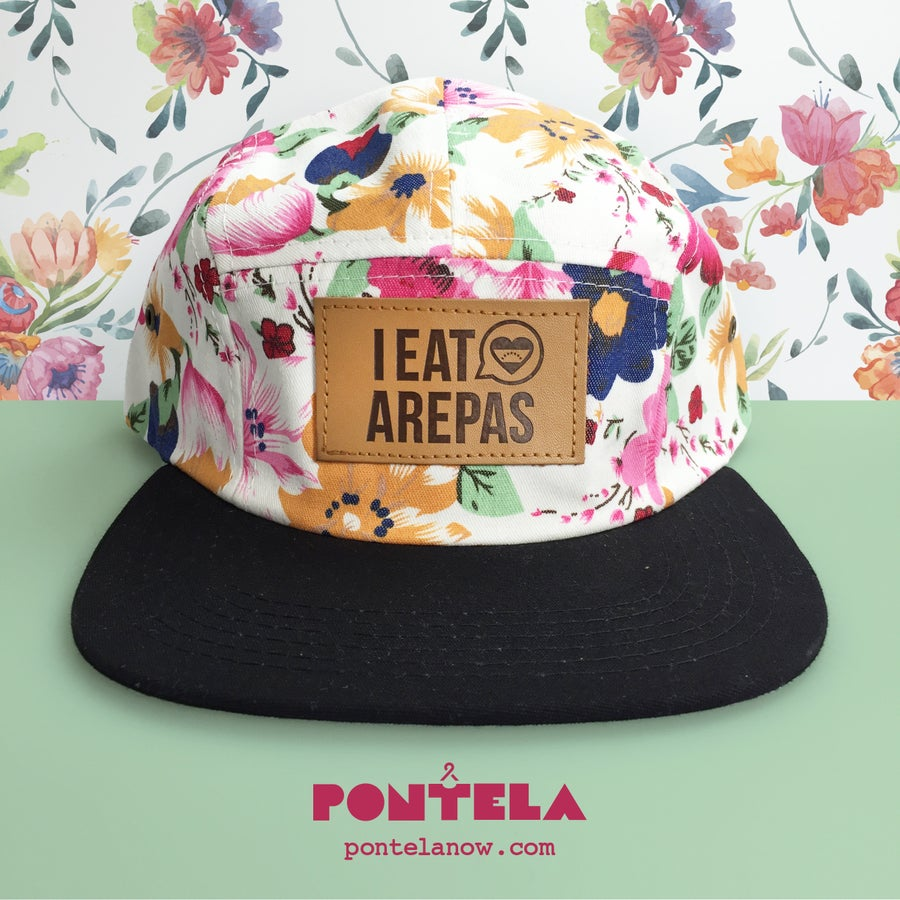 Image of I Eat Arepas Leather Flowers