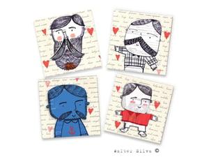 Image of Macho Men Doodle Magnets