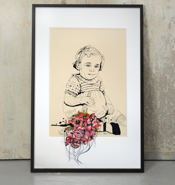 Image of Original - private order - child portrait