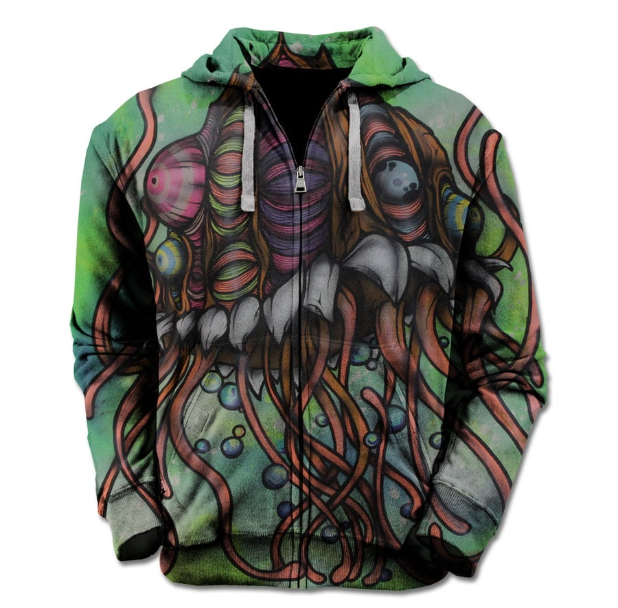 Image of Groctopus Zip Up