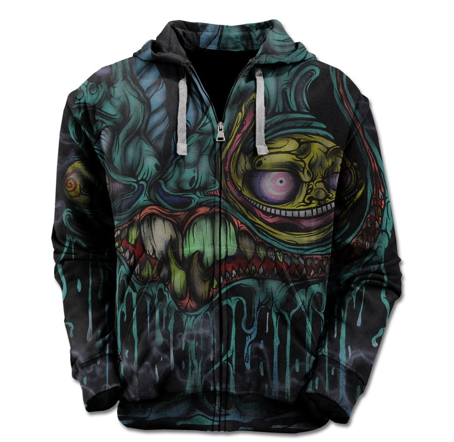 Image of Eye Goblin Zip Up