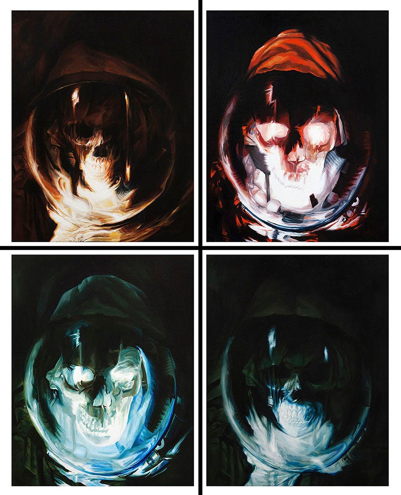 Image of Skull'naughts limited Print set!