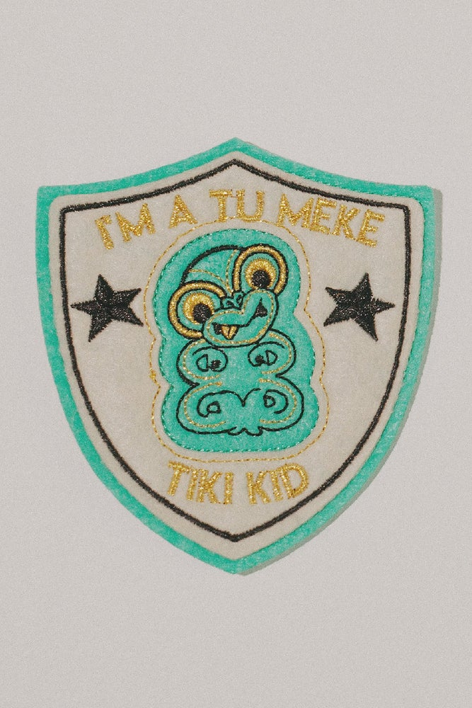 Image of I'm a Tu Meke Tiki Kid 'Get Patched' Patch