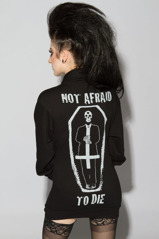 Image of Coffin Not Afraid To Die Hoodie