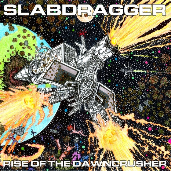 Image of Slabdragger - Rise of the Dawncrusher promo cd