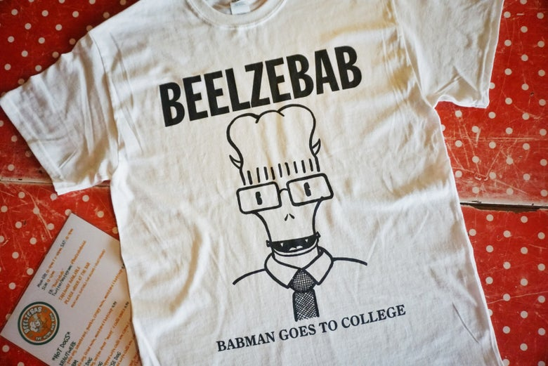 Image of Babman goes to college