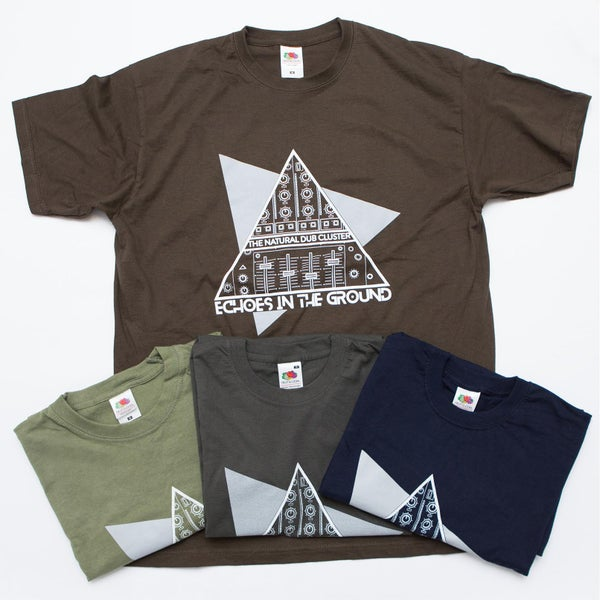 Image of Echoes in the ground - T-shirt 2015 - 4 colours - all sizes