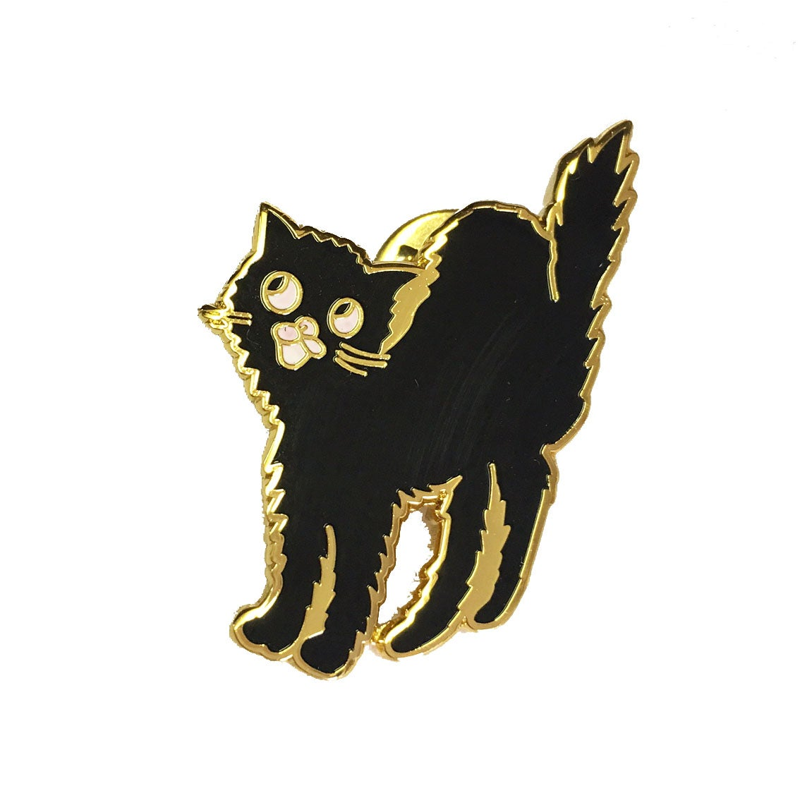 Scaredy Cat Pin