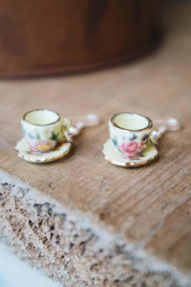 Image of Teacup Earrings