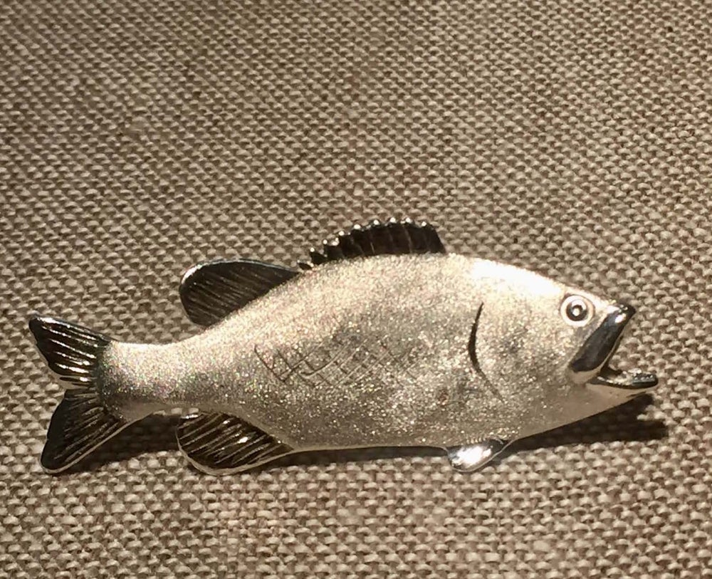 Image of Large Mouth Bass Pin