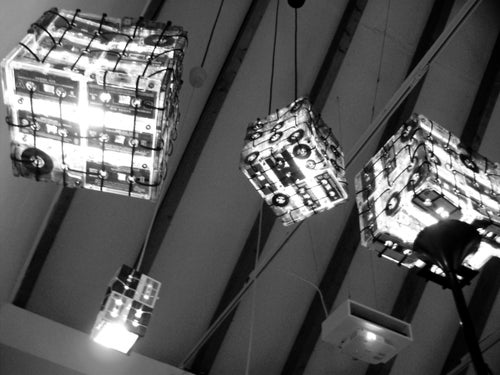 Image of CASSETTE TAPES LAMP BOX