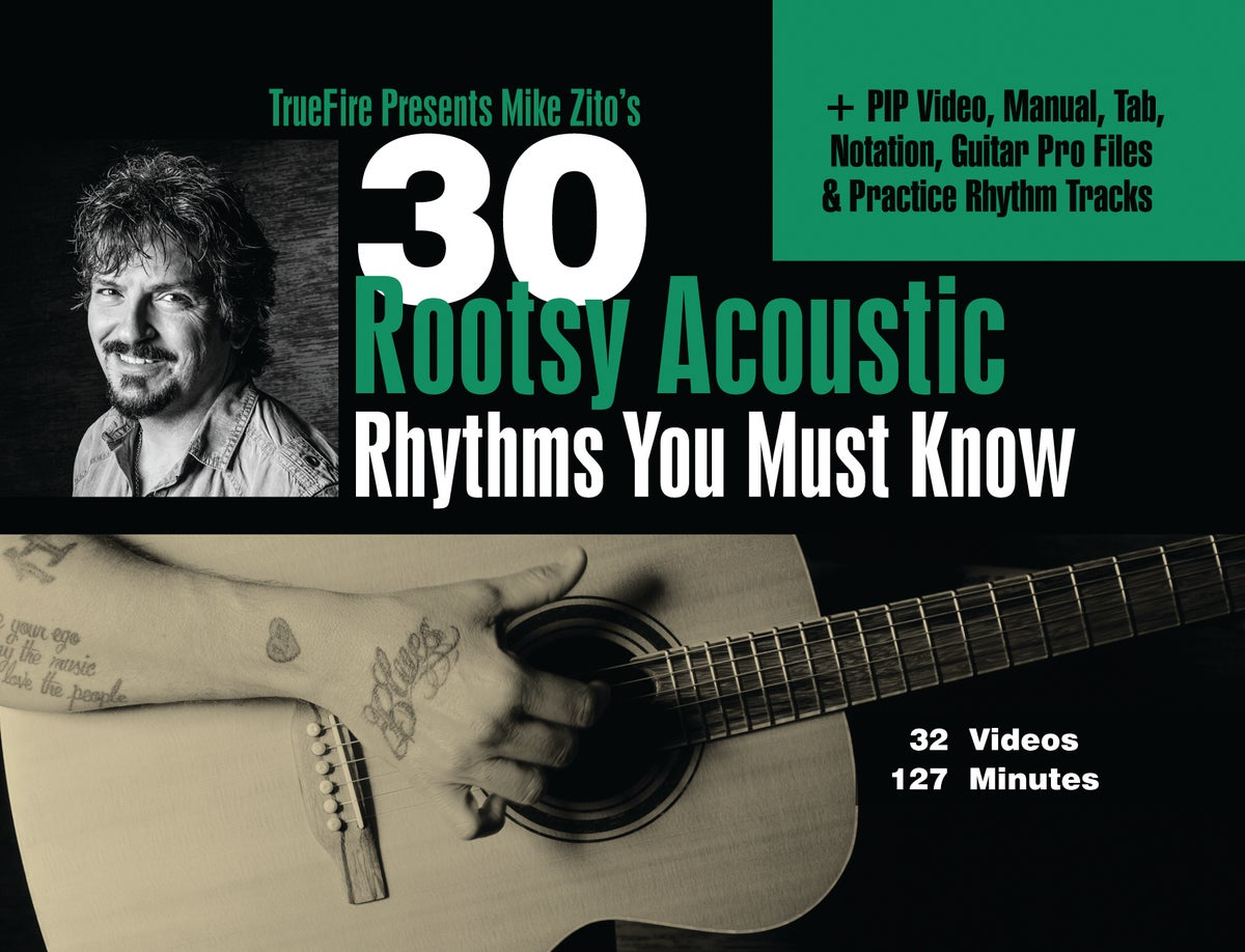 Image of TrueFire - 30 Rootsy Acoustic Rhythms