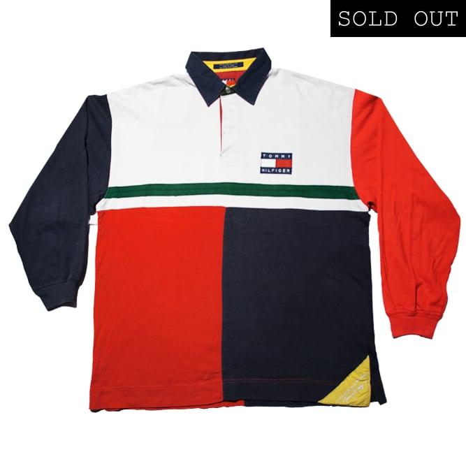 8a87b9ac0 Tommy Hilfiger Vintage Sailing Gear Polo / Rocca Sport