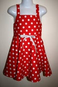 Image of Lil' Red Polka-Dot Dress