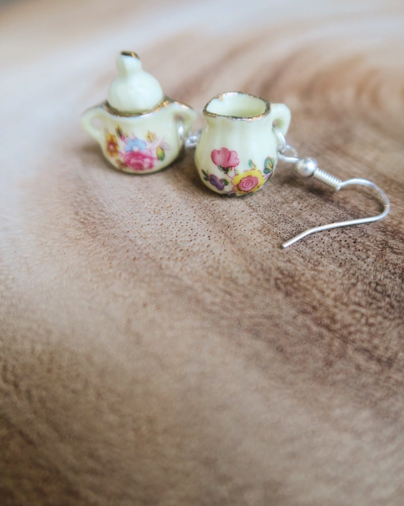 Image of Milk Jug and Sugar Pot Earrings
