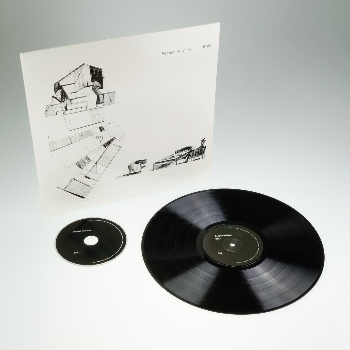 "Image of Second Relation ""Eno"" LP"