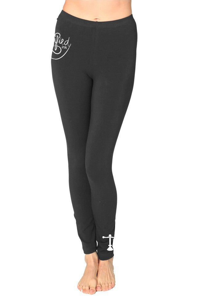 Image of Scales of Justice - Spandex Jersey Leggings - Greyskull
