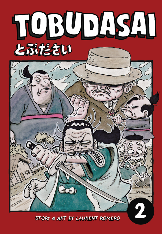 Image of TOBUDASAI VOLUME 2 - COMIC BOOK