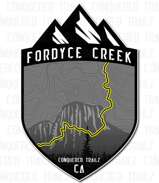 "Image of ""Fordyce Creek"" Trail Badge"