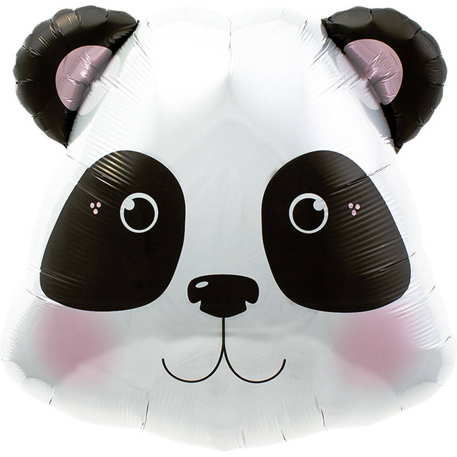 Image of {Panda Head} Mylar Balloon