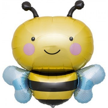 Image of {Bumble Bee} Mylar Balloon
