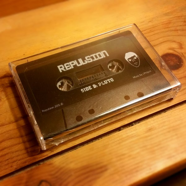 Image of Repulsion - Scenic Route // Pluto [Cassette Tape]