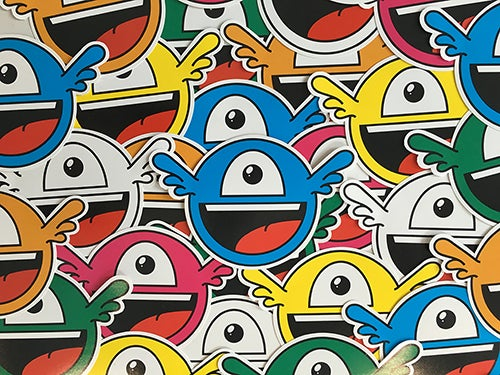 Image of UNICOLOR JOEY STICKER PACK