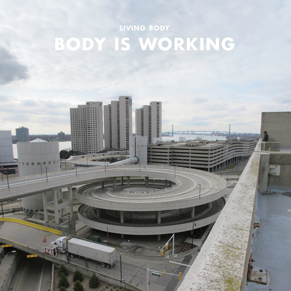 "Image of Living Body - 'Body is Working' - 12"" VINYL / CD + Bundle Deals w/ tote bags"