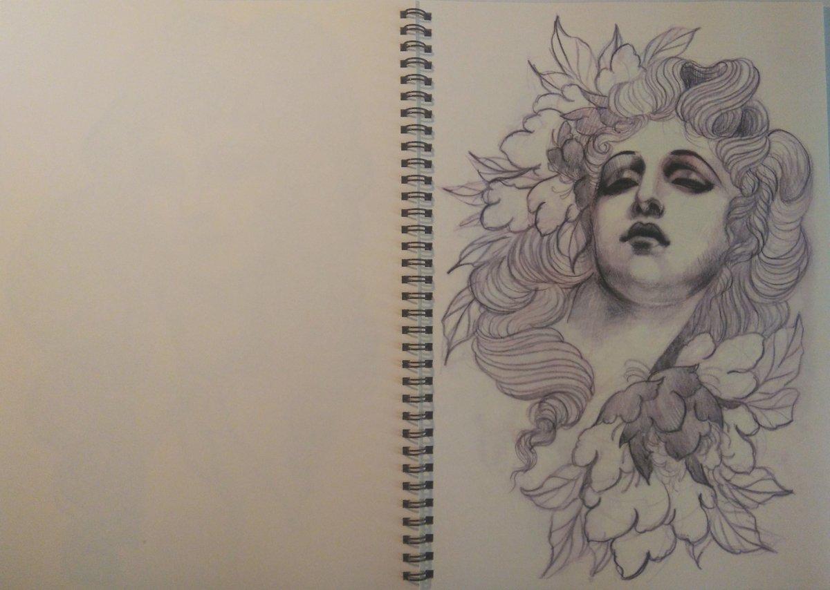 Image of Alix's sketchbook Vol.1