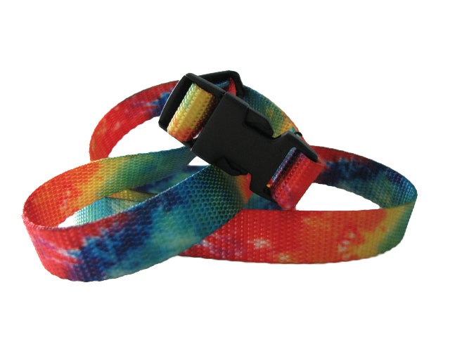 Image of Tie Dye Chalk Bag Belt