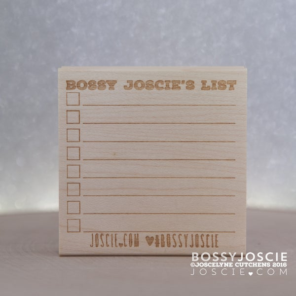 Image of Personalized Post-it Note Stamp #