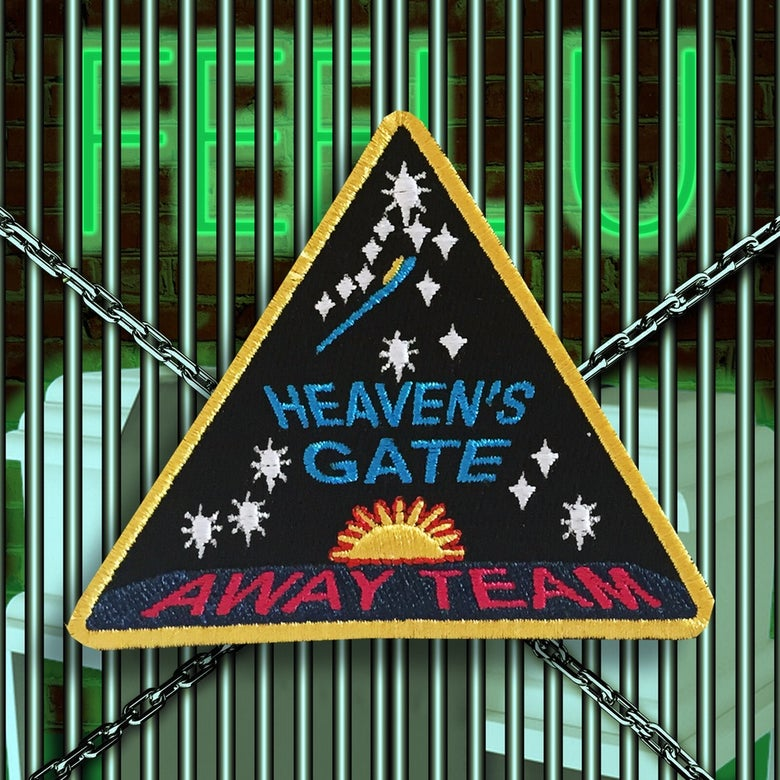 "Image of HEAVEN'S GATE ""AWAY TEAM"" PATCH"