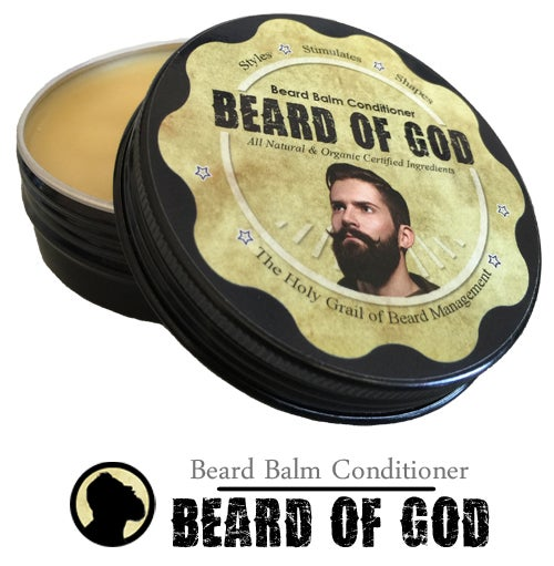 Image of 2oz Beard Balm Conditioner & Beard of God™ Sack