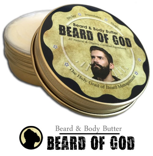 Image of 2.5oz Beard Butter Conditioner & Beard of God Sack™