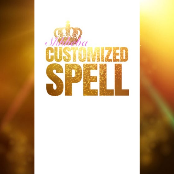Image of Customized Spell