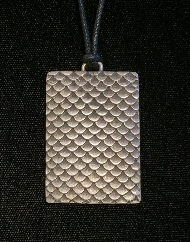 Image of Scales Pattern Pendant
