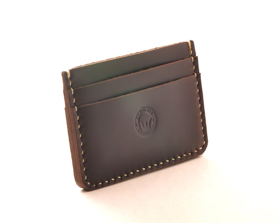 Image of Limited 5 Pocket Minimalist Leather Wallet
