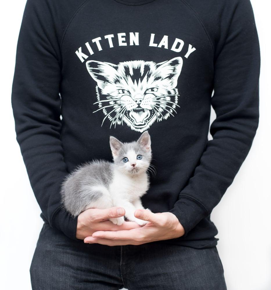 Image of Hissy Kitten Sweatshirt