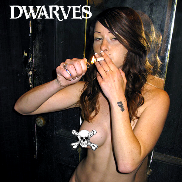 "Image of The Dwarves - We Only Came To Get High 7"" (Cocaine White / Sour Diesel Pressing)"
