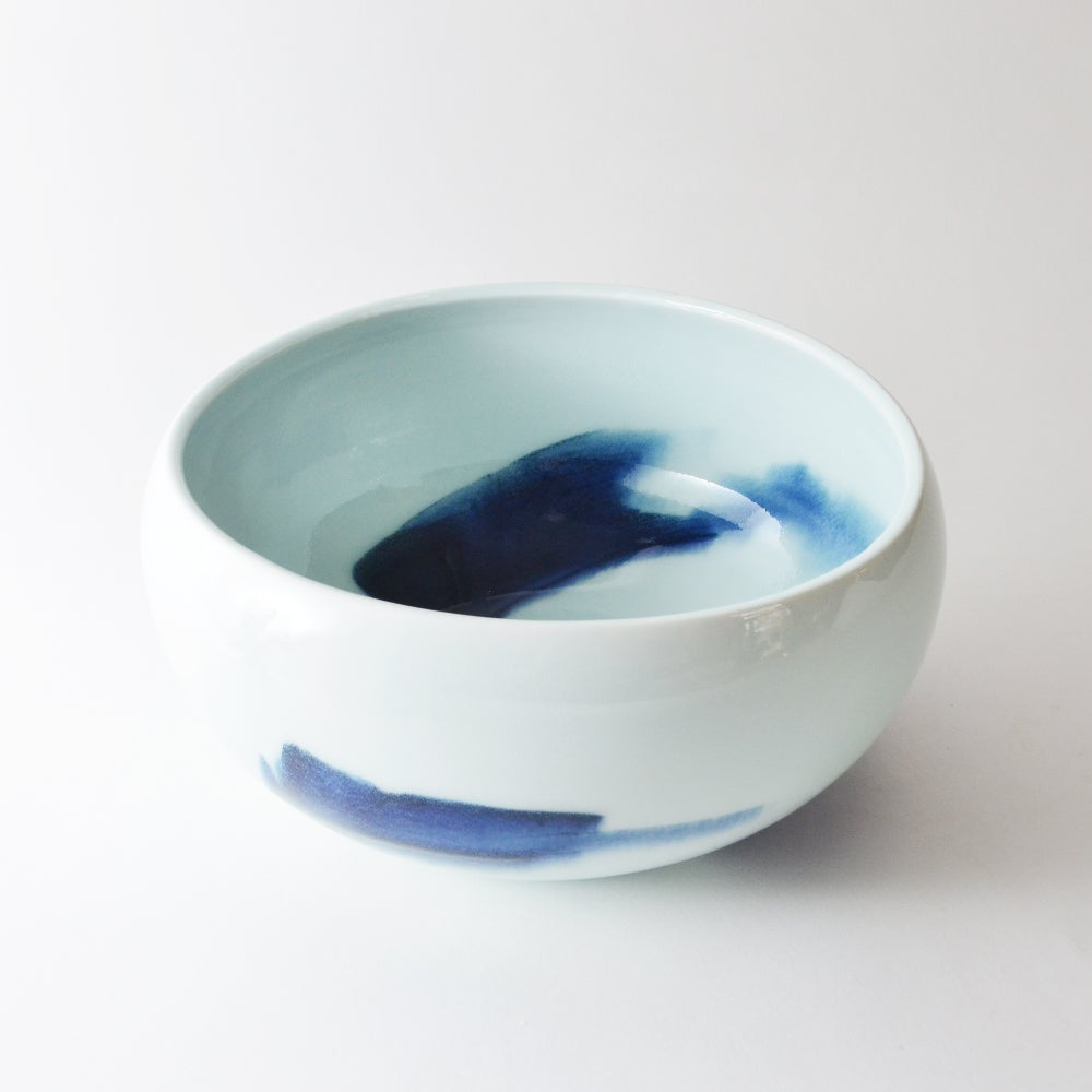Image of altered porcelain bowl - LARGE