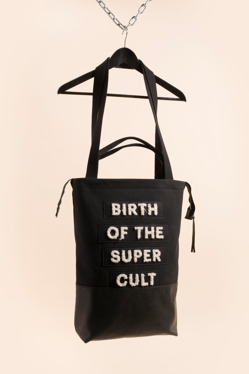 Image of Zipper Tote - Birth of the Super Cult