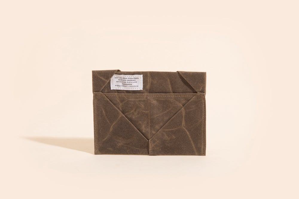 Image of Diamond Billfold - Oak