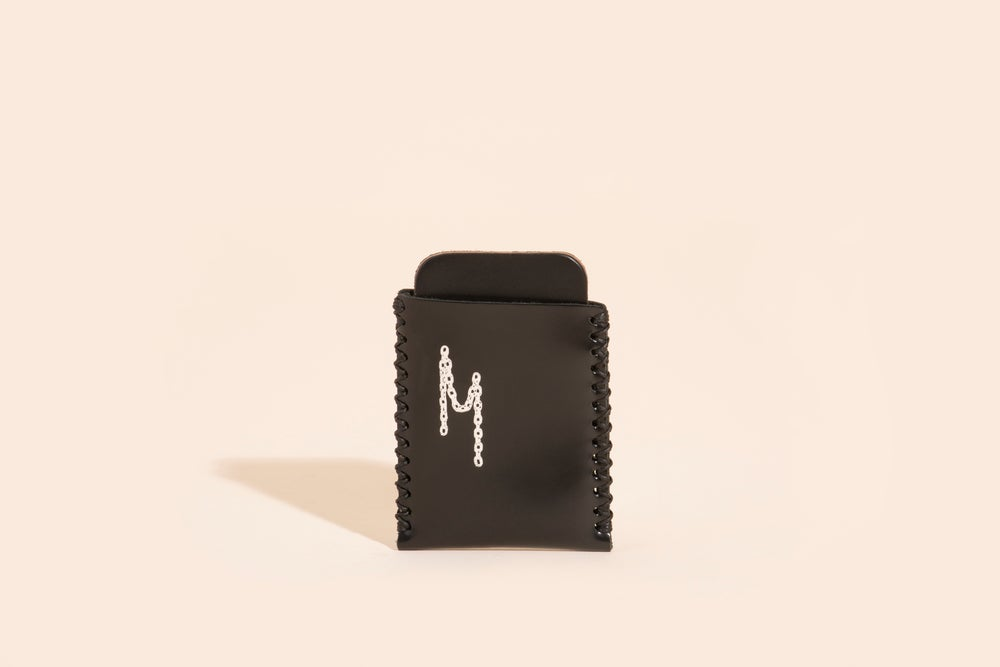 Image of Card Carry No. 01 - Black - Chain