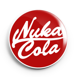 Image of 2.25 inch Nuka Cola Button/Magnet/Bottle Opener/Compact Mirror