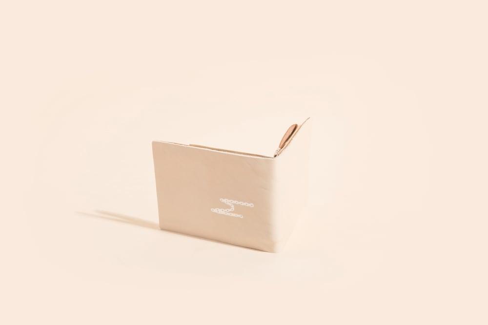 Image of Seamless Billfold - White Lambskin