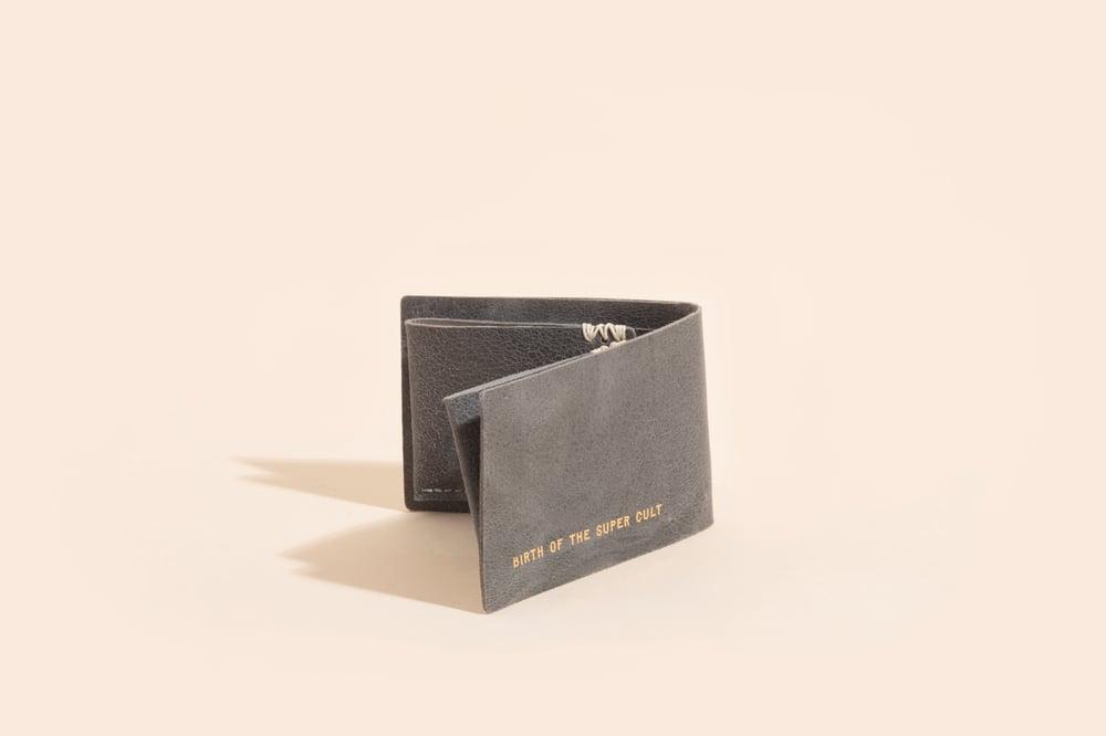 Image of Seamless Billfold - Grey Goatskin
