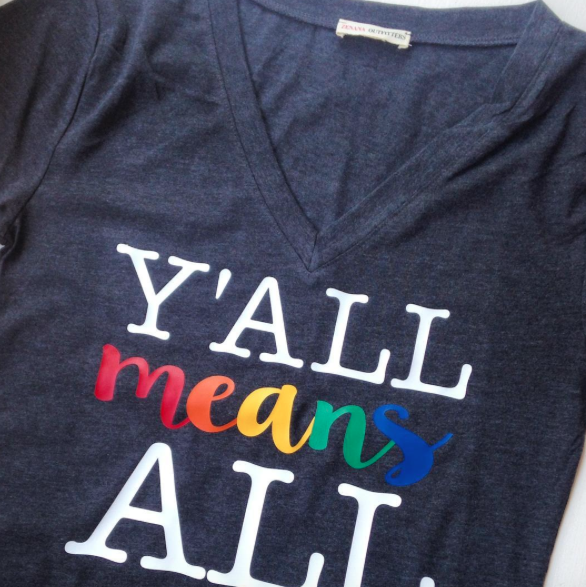 Image of Y'all means All